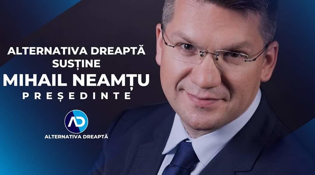 Un președinte creștin, pentru o Românie creștină!