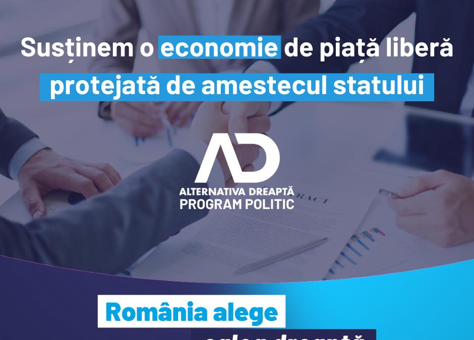 Susținem libertatea economică