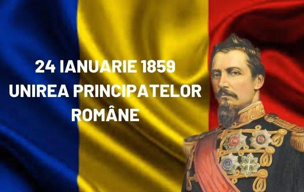 162 de ani de la Unirea Principatelor Române!